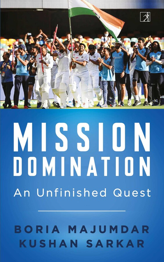 """A Book """"Mission Domination: An Unfinished Quest"""" Released by Boria Majumdar and Kushan Sarkar"""